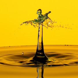 Gremlins by Fred Øie - Abstract Water Drops & Splashes ( abstract )