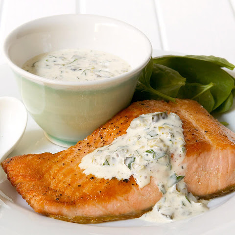Sea Trout with Remoulade