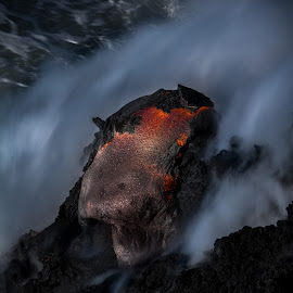 Pre Dawn Exposure by Jared Goodwin - Landscapes Caves & Formations ( water, waterscape, seascapes, waterfall, sea, volcanic, beach, seascape, landscape, paradise, volcano, season, volcanoes, landscapes )
