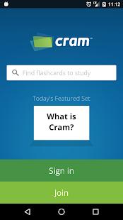 App Cram.com Flashcards apk for kindle fire
