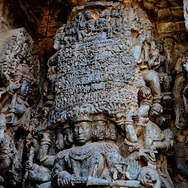 Excellence.. by Arup Chowdhury - Buildings & Architecture Statues & Monuments ( hoysaleswara temple, halebidu )