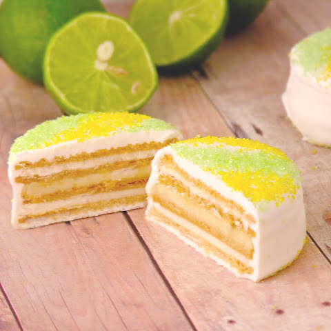 Key Lime Layer Cookies