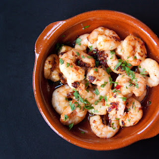 Garlic And Paprika Prawns