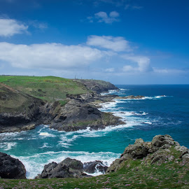 Cornwall by Kyle Akeley - Landscapes Waterscapes