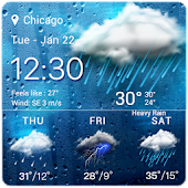 Download Weather Temperature Widget APK to PC