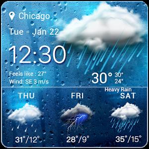 Wetter Temperatur Widget android apps download