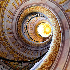 Spiral staircase by Heather Aplin - Buildings & Architecture Other Interior (  )