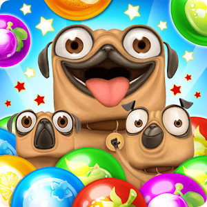 Pug Pop Bubble Shooter For PC (Windows & MAC)