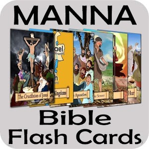 Manna Bible Flash Cards app for android