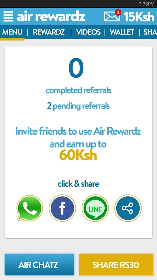 Air Rewardz Screenshot 3