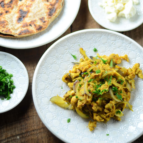 North Indian-style Scrambled Eggs