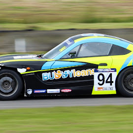 beat up Ginetta by Martin Thomson - Sports & Fitness Motorsports ( gt4, junior, gt3, btcc, knockhill, ginetta, motorsport )