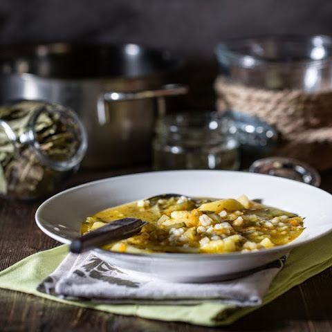 Pearl Barley Soup With Vegetables