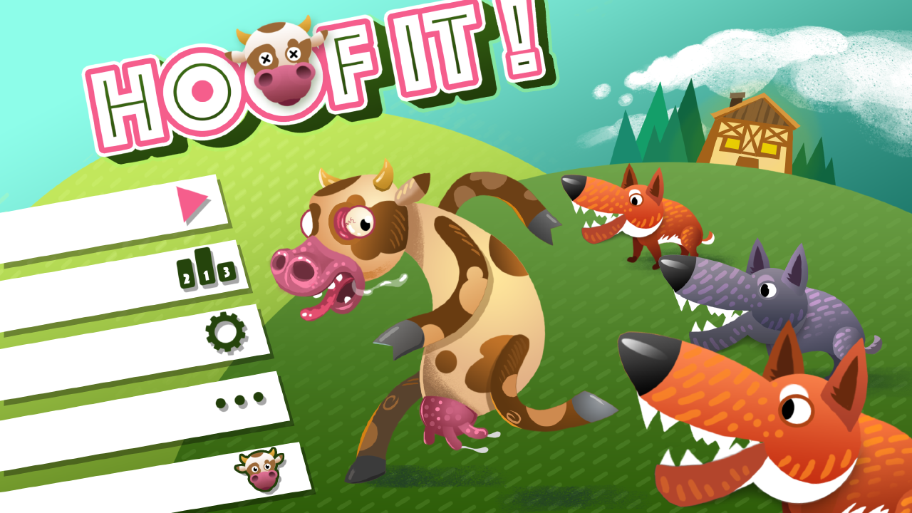 Hoof It! - Save the cow! Screenshot 4
