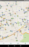 Screenshot of 三井のリパーク駐車場検索