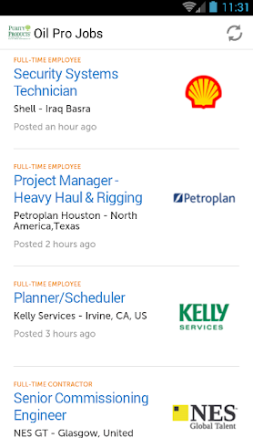 android Oil Professional Jobs Screenshot 1
