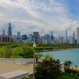 chicago skyline by Shivam Chhabra - Buildings & Architecture Other Exteriors