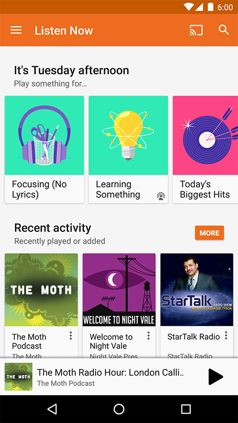 Google Play Music Screenshot 5