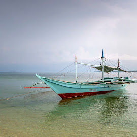The Boat by Geoffrey Wols - Transportation Boats ( tropical, sand, water, boat,  )