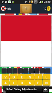 Guess The Flag of Country - screenshot
