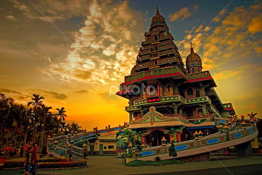 Senja di Velangkani by Handri Fitrido - Landscapes Travel