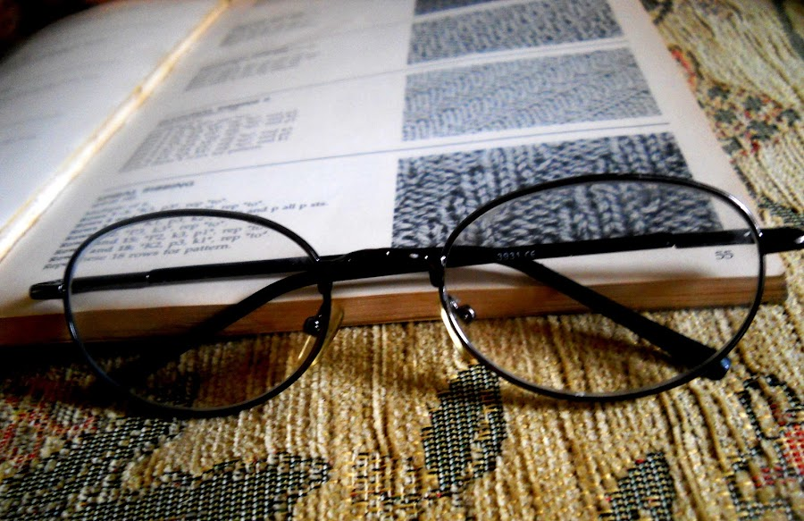 by Vesna S. Disić - Products & Objects Education Objects ( product, detail, reading, macro, . reading, glasses, still life, book, intlligence, fabric, light, close up )