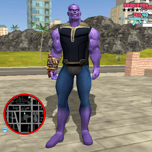 Thanos Rope Hero: Vice Town For PC (Windows & MAC)