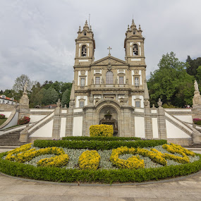 Sanctuary of Bom Jesus do Monte by Rui Medeiros - Buildings & Architecture Places of Worship ( braga, sanctuary, church, place of worship, portugal, historical, places of interest,  )