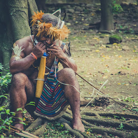 The Papua Man3 by Oombi Yanto - People Portraits of Men (  )