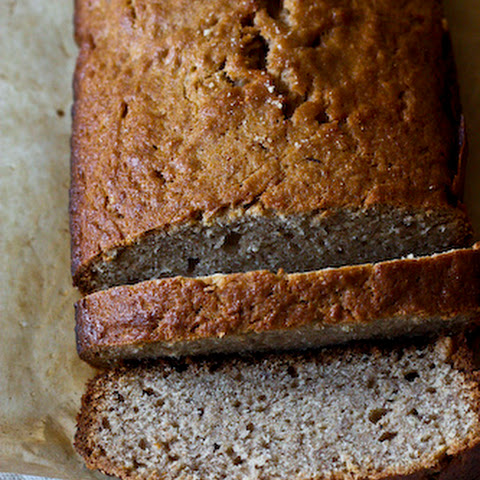 Favorite Whole Wheat Banan Bread with Grand Marnier