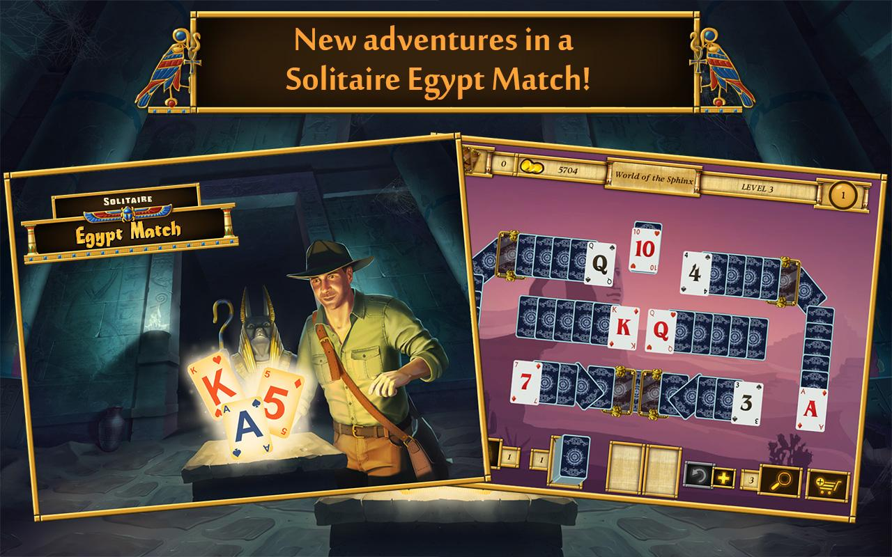 Solitaire Egypt Match Screenshot 5