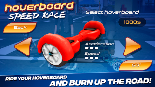 Hoverboard Speed Race For PC