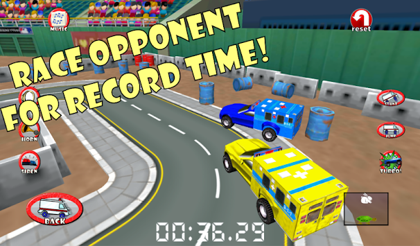 Police Car Chase Sim 911 FREE APK screenshot thumbnail 6