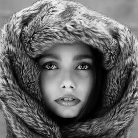 Eyes by Pierre Vee - Black & White Portraits & People