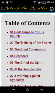 Acts of the Apostles- screenshot