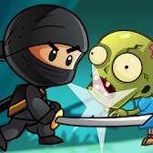 Ninja Kid Vs Zombies - Special APK icon