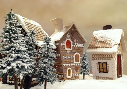 Gingerbread Houses Puzzle - screenshot