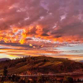 by John LeBlanc - Landscapes Sunsets & Sunrises ( co, sun set )