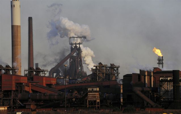 ArcelorMittal SA's Vanderbijlpark plant. Picture: FINANCIAL MAIL