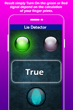 Lie Detector Simulator apk screenshot