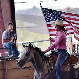 USA by Randy Young - Sports & Fitness Rodeo/Bull Riding