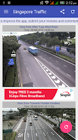 Screenshot of Singapore Traffic Cam
