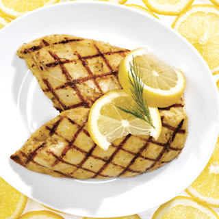 Lemon Dill Grilled Chicken