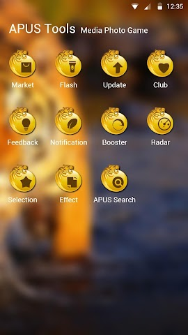 android The Tiger theme for APUS Screenshot 2