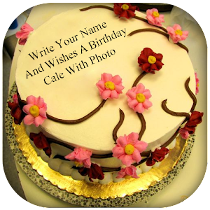 Birthday Cake Images With Name Vijay : Name On Birthday Cake Photo Frame - Android Apps on Google ...