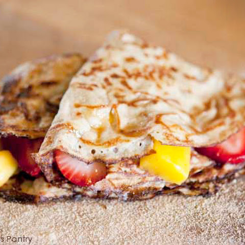 Clean Eating Crepes