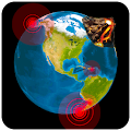 Quake & Volcanoes: 3D Globe of Volcanic Eruptions APK