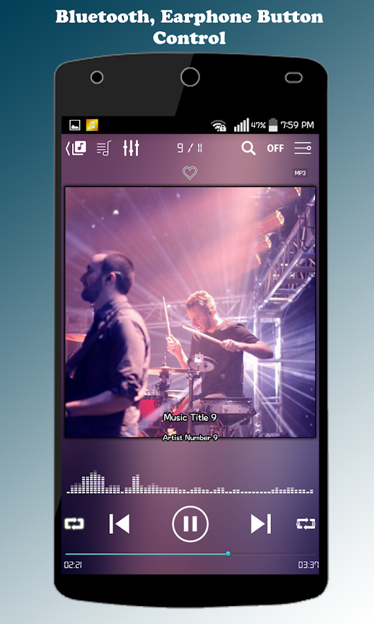 ZZang Music Player Screenshot 3