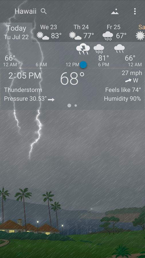 YoWindow Weather Screenshot 5