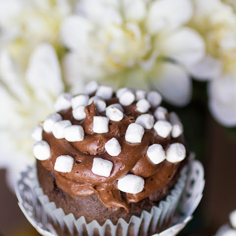 Chocolate Marshmallow Cupcakes